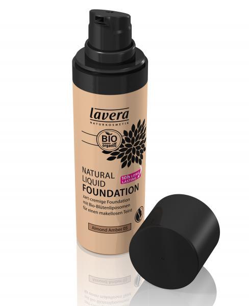 Lavera Natural Liquid Foundation_ Almond Amber