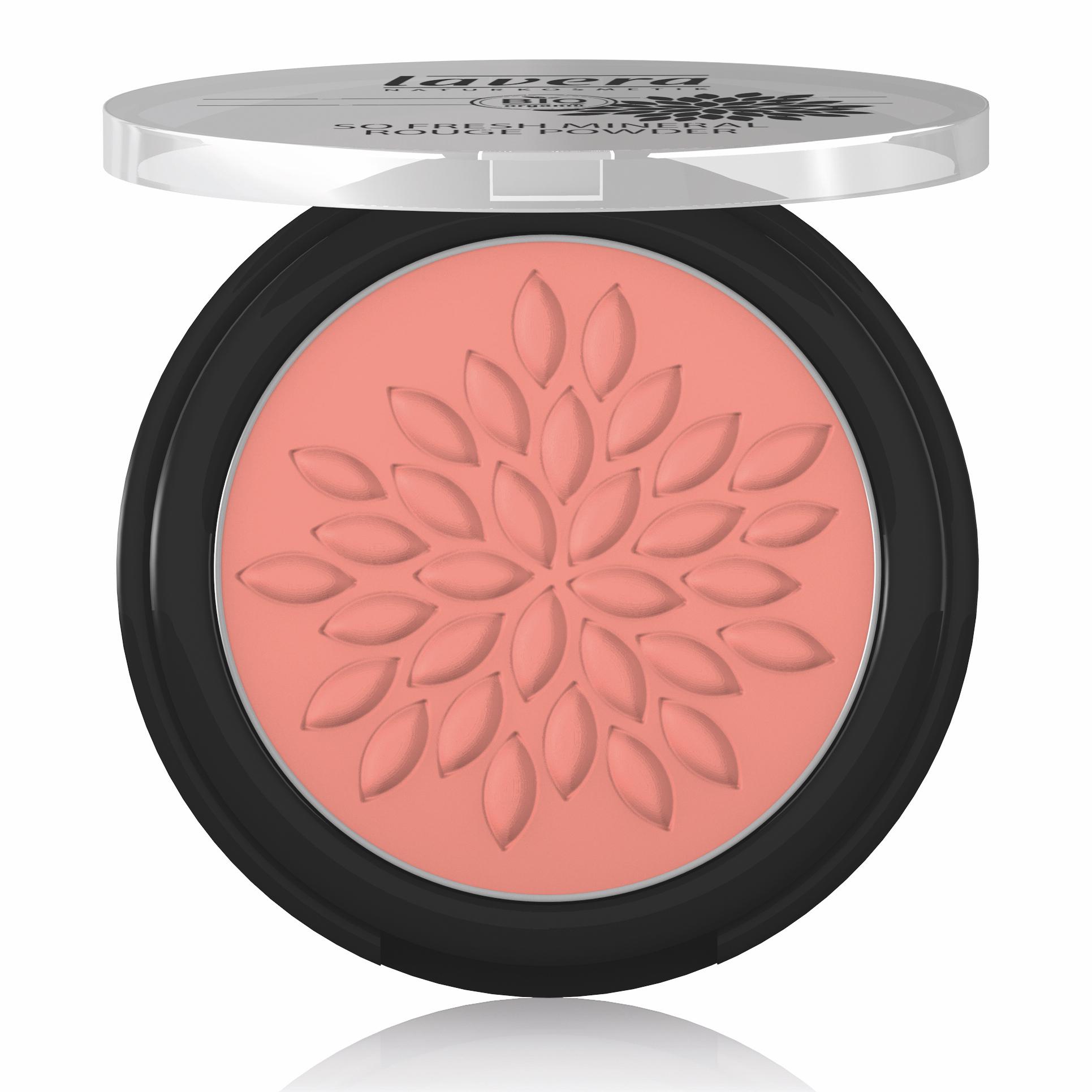 Lavera So Fresh Mineral Rouge Blush Powder Charming Rose