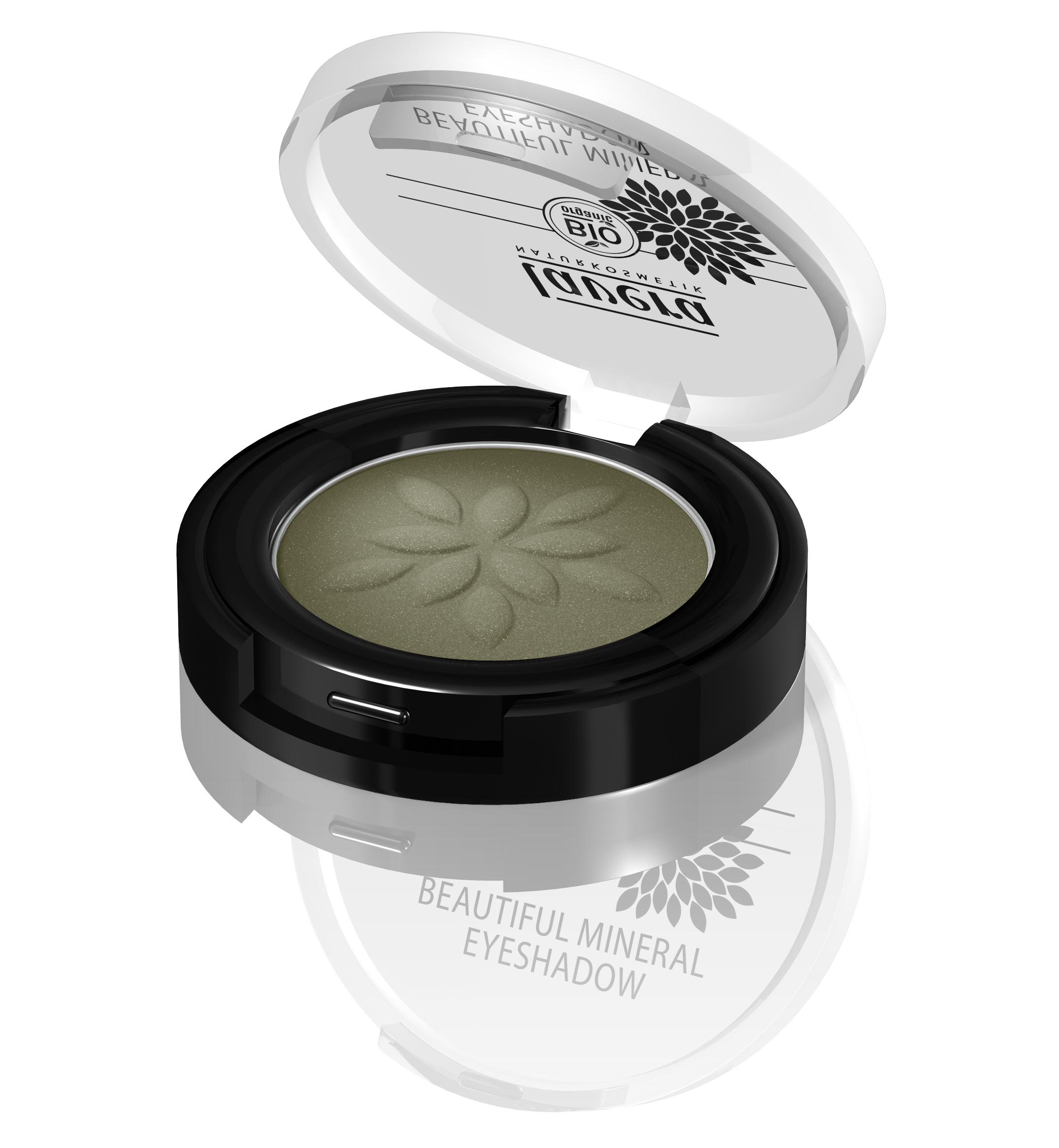 Lavera Beautiful Mineral Eyeshadow_Green Olive
