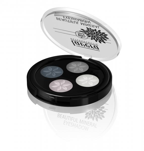 Lavera Beautiful Mineral Eyseshadow Quattro_Smoky Grey
