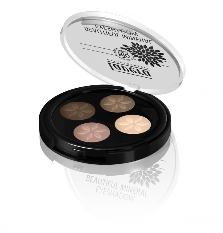 Lavera Beautiful Mineral Eyeshadow Quattro_Cappucino Cream
