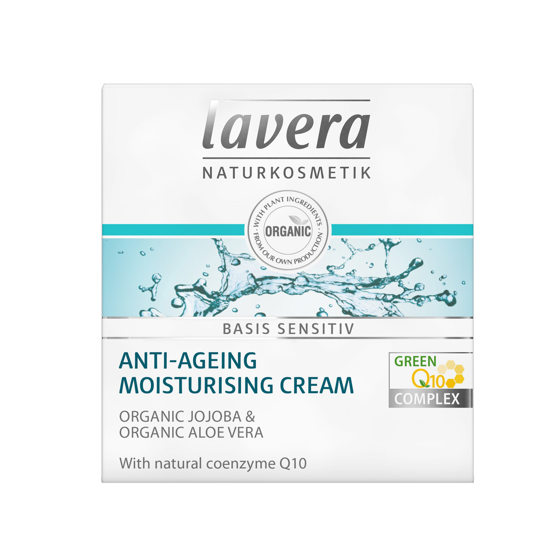 Lavera Basis Anti-Ageing Q10 Moisturising Cream 50ml