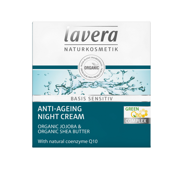Lavera Basis Anti -Ageing Q10 Night Cream 50ml