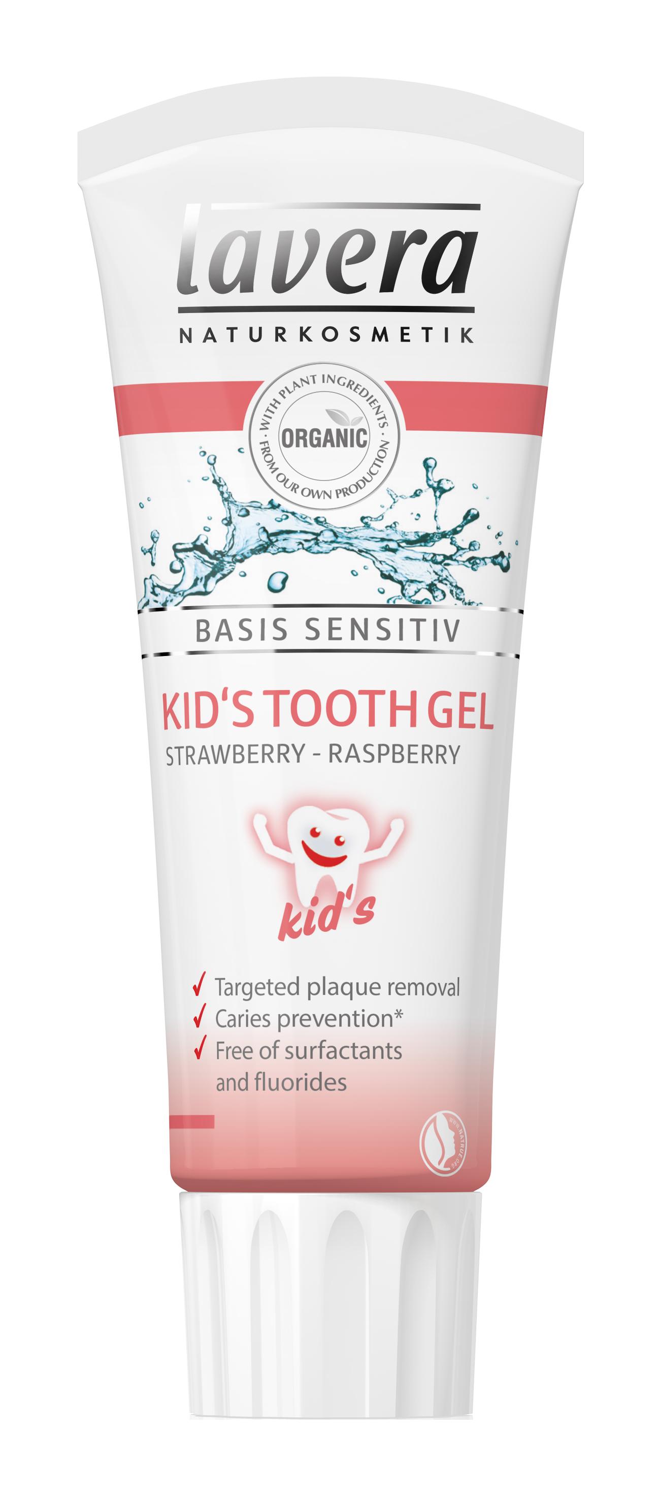 Lavera Basis Kids Tooth Gel Strawberry Raspberry 75ml Earthrose Jack N Jill Toothpaste 50g