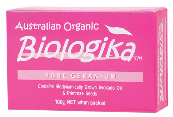 Biologika Rose Geranium Bar Soap