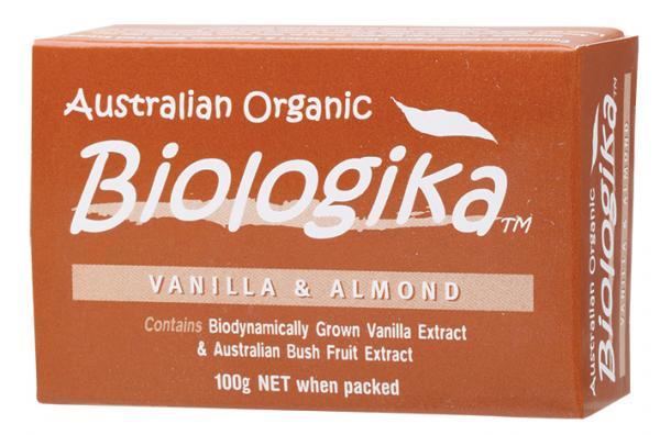 Biologika Vanilla and Almond Bar Soap