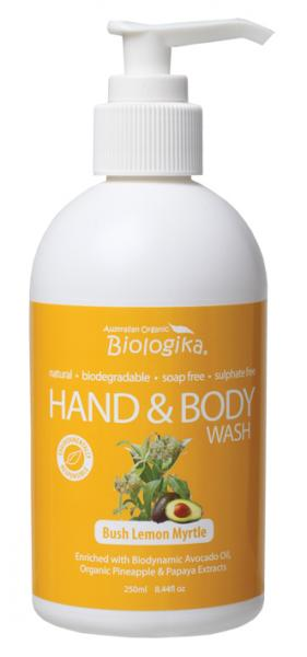 Biologika Bush Lemon Myrtle Hand and Body Wash