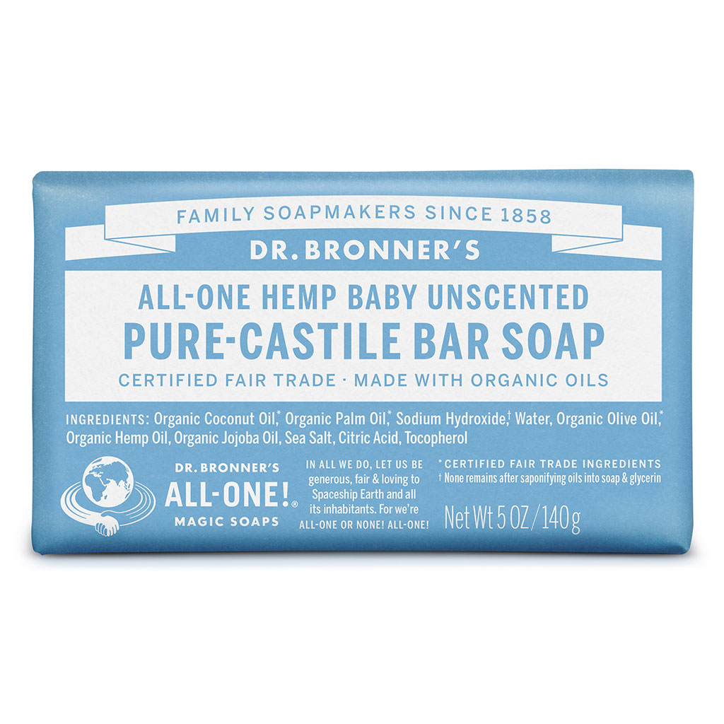 Dr Bronner's Bar_Soap-140g-Baby-Unscented