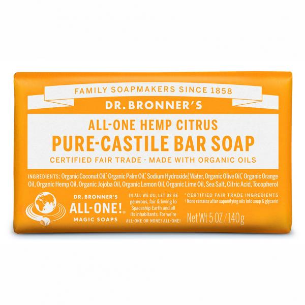 Dr Bronner's Bar_Soap-140g-Citrus