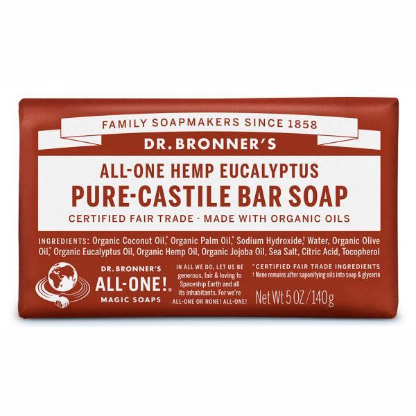 Dr Bronner's Bar_Soap-140g-Eucalyptus