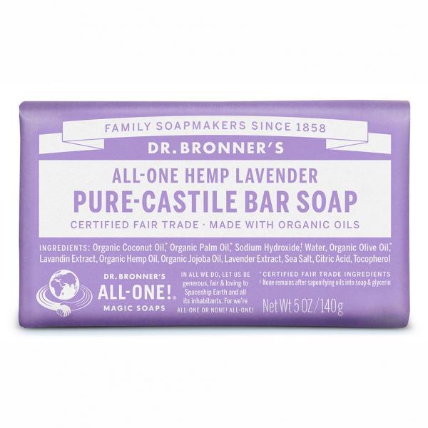 Dr Bronner's Bar_Soap-140g-Lavender