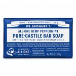Dr Bronner's Bar_Soap-140g-Peppermint