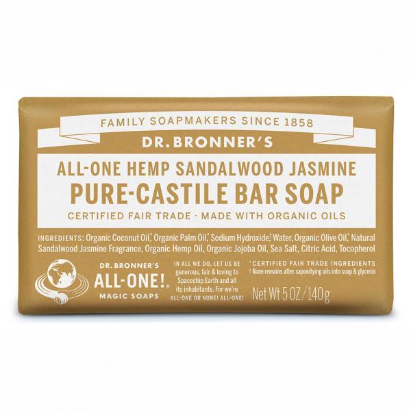 Dr Bronner's Bar_Soap-140g-Sandalwood_Jasmine