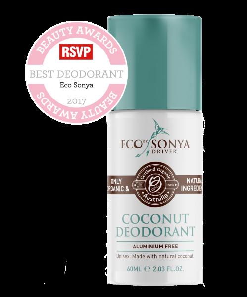 Eco Tan Coconut Deodorant Aluminium Free