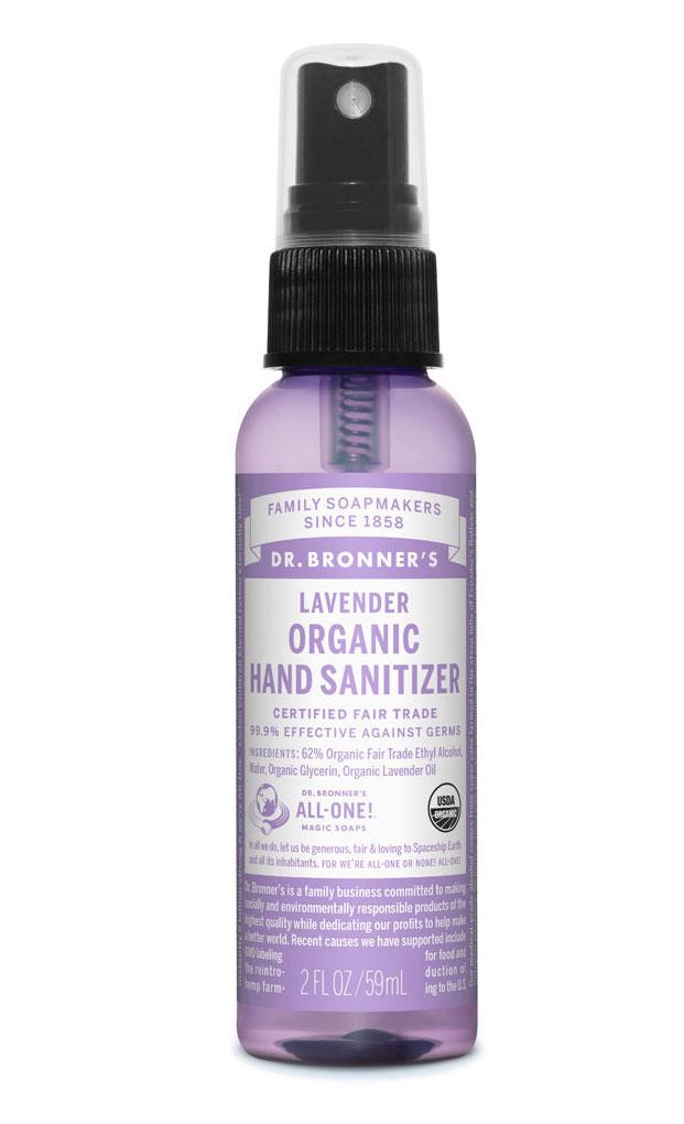 Dr Bronner's Hand Sanitiser Lavender