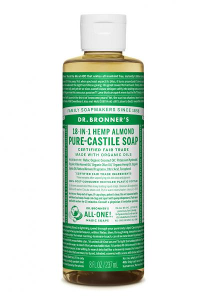 Dr Bronner's Liquid_Soap-237ml-Almond