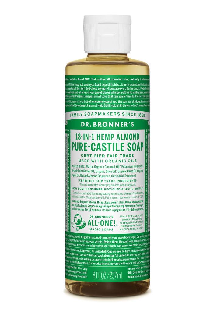 Dr Bronner's Liquid_Soap-237ml-Almond