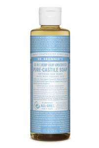 Dr Bronner's Liquid_Soap-237ml-Baby_Unscented