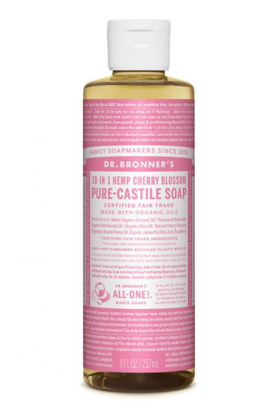 Dr Bronner's Liquid_Soap-237ml-Cherry_Blossom