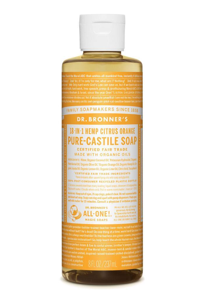 Dr Bronner's Liquid_Soap-237ml-Citrus
