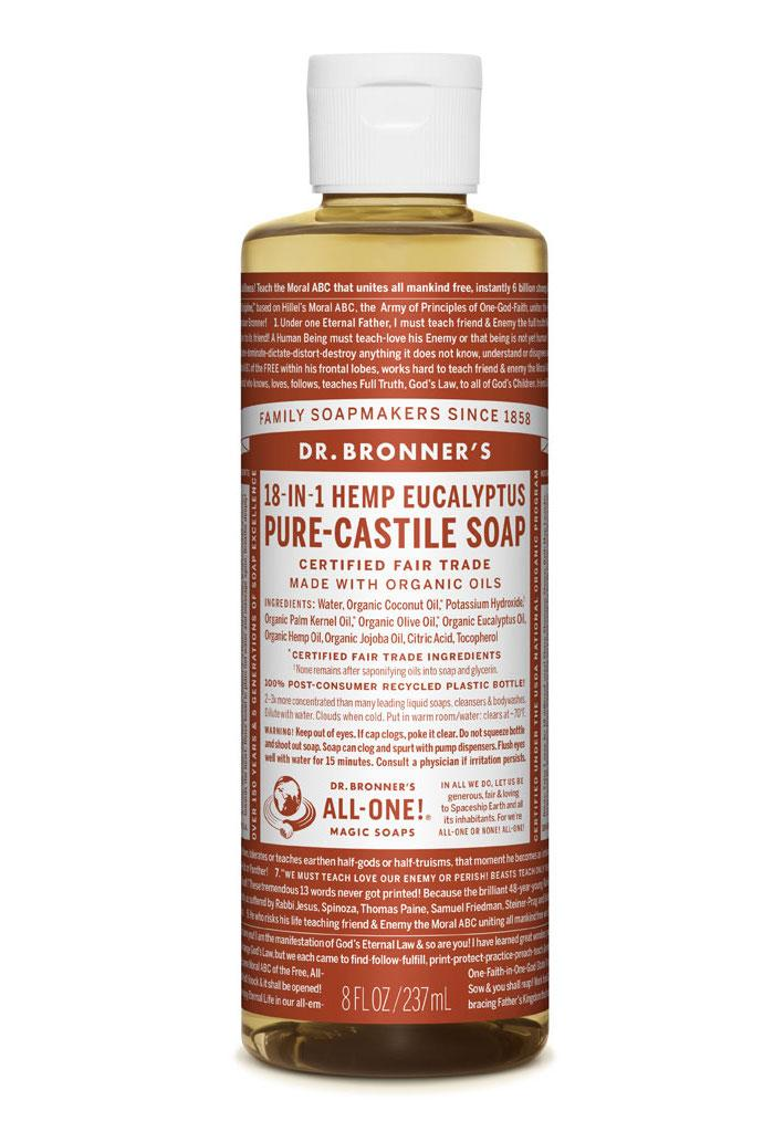 Dr Bronner's Liquid_Soap-237ml-Eucalyptus