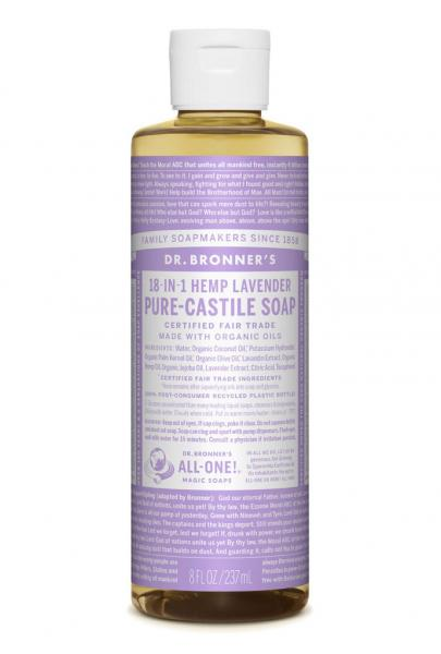 Dr Bronner's Liquid_Soap-237ml-Lavender