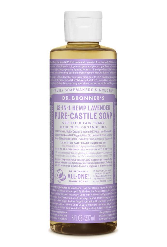 Dr Bronner's Liquid_Soap-237ml-Lavender