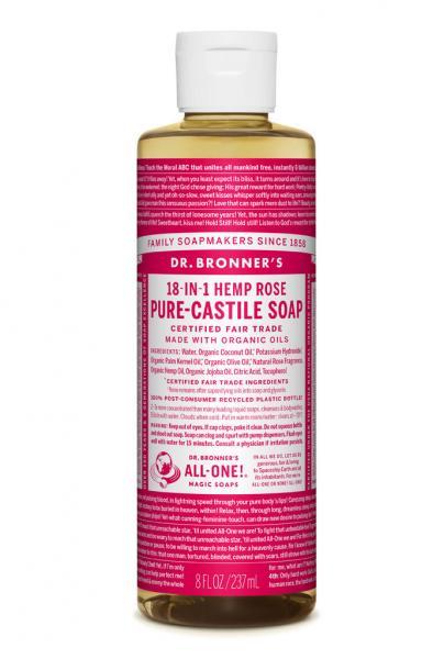 Dr Bronner's Liquid_Soap-237ml-Rose