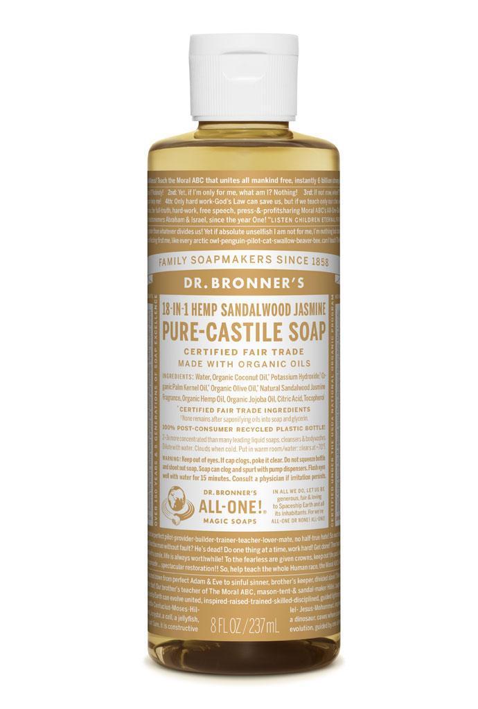 Dr Bronner's Liquid_Soap-237ml-Sandalwood_Jasmine