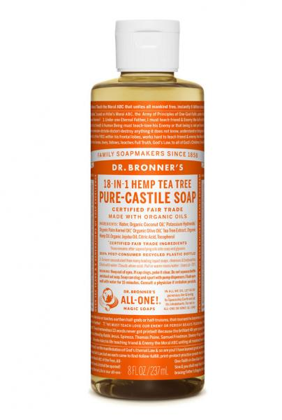 Dr Bronner's Liquid_Soap-237ml-Tea_Tree