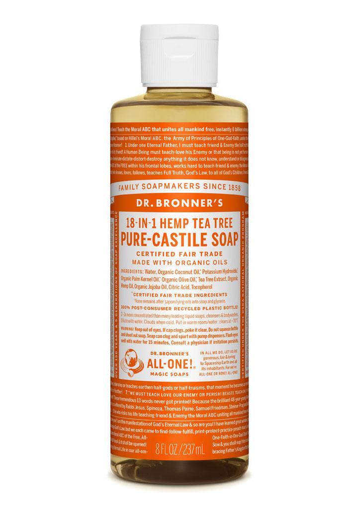 Dr Bronner's Liquid_Soap-237ml-Tea_Tree