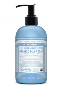 Dr Bronner's Pump_Soap-355ml-Baby_Unscented
