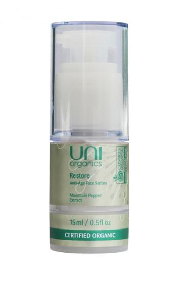 Uni Organics Restore Anti Age Face Serum 15ml