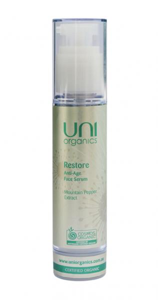 Uni Organics Restore Anti Age Face Serum 50ml