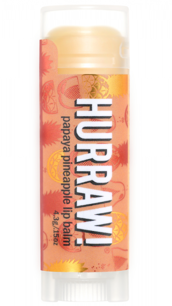 Hurraw! Lip Balm Papaya