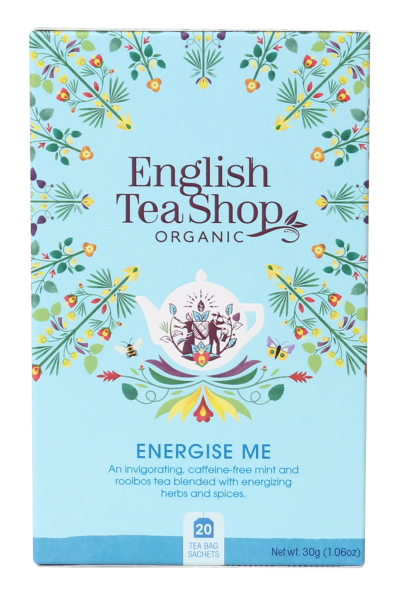 English Tea Shop Organic Wellness Tea Energize Me