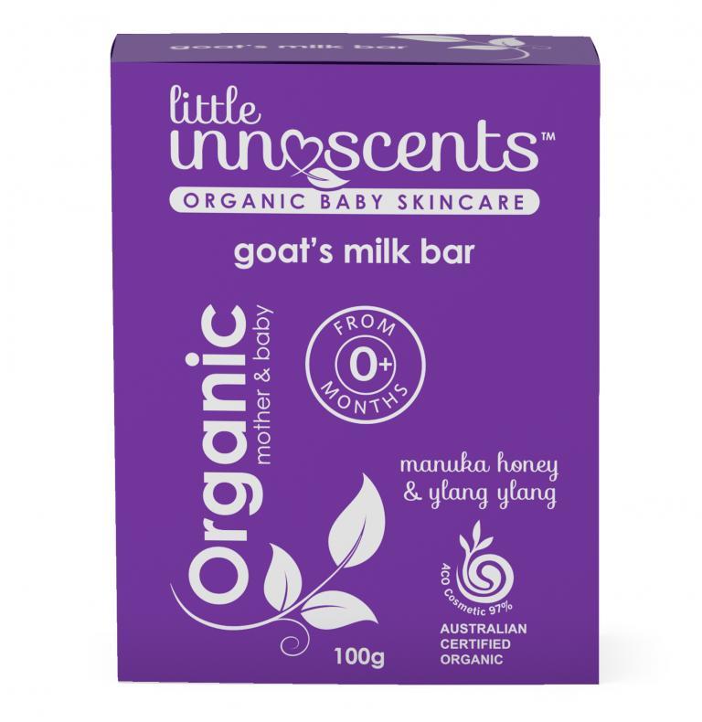 Little Innoscents Goats Milk Soap