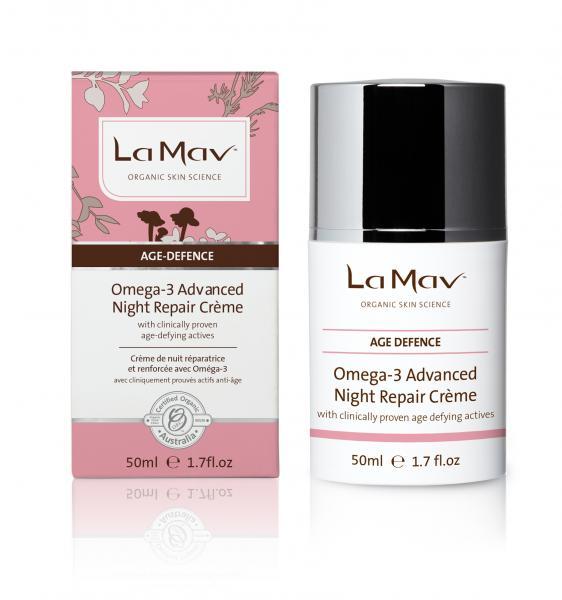 La Mav Age Defence Omega-3 Night repair Crème