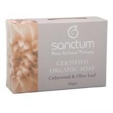 Sanctum Organic Cedarwood Soap