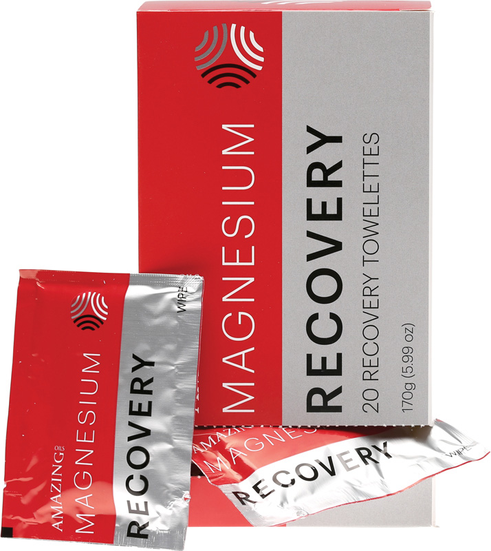 Amazing Oils Magnesium Recovery Towellettes