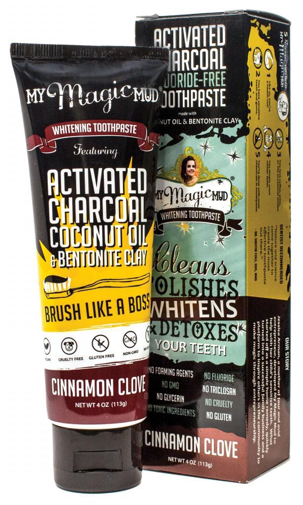 My Magic Mud Whitening Toothpaste Cinnamon-Clove