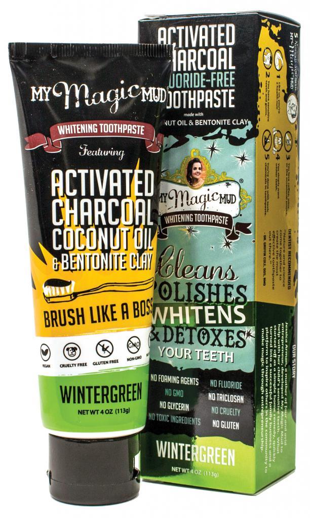 my Magic Mud Whitening Toothpaste Wintergreen
