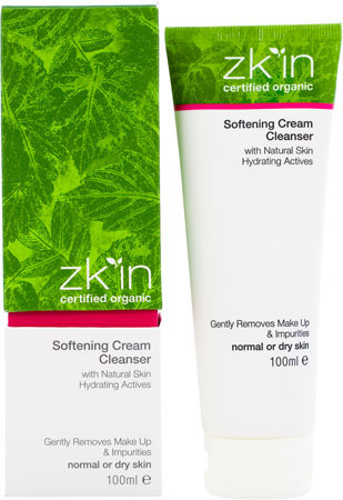 zk'in Organic Softening Cream Cleanser