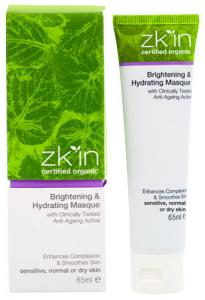 zk'in Brightening & Hydrating Masque