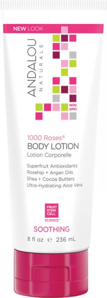 Andalou Naturals 1000 Roses Body Lotion Soothing