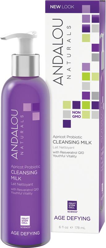 Andalou Naturals Apricot Probiotic Cleansing Milk, 6 fl.oz Unique Bargains Clear DIY Face Makeup Tool Beauty Mask Mixer Holder Mixing Bowl 3.5  Dia 2 Pcs