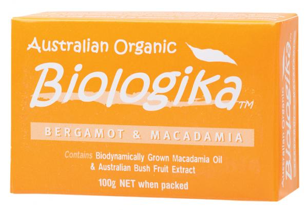 Biologika Bergamot & Macadamia Soap