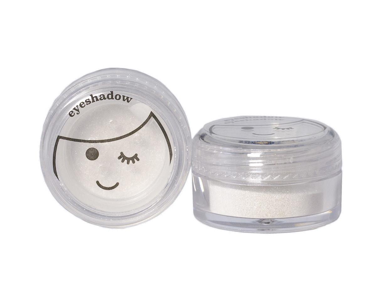 No Nasties Sparkly White Eyeshadow
