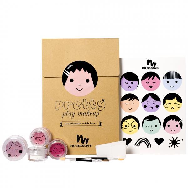 No Nasties Pretty Play Makeup Goody Pack Nisha Pink