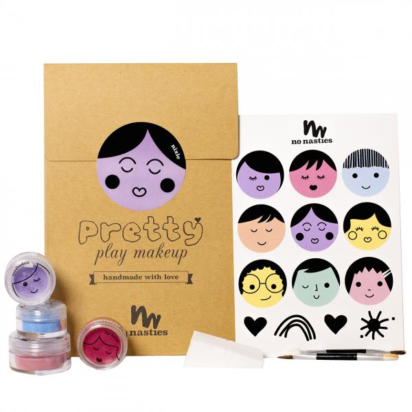 No Nasties Nixie Pretty Play Makeup Goody Pack Purple